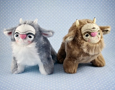 Spirit Animals, soft art toys
