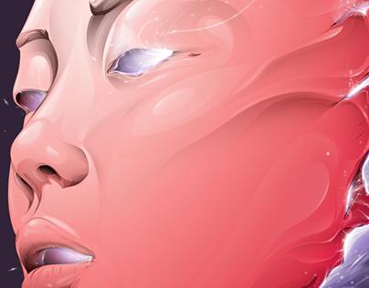 Arcanic Mask - Step by step - Illustrator CC