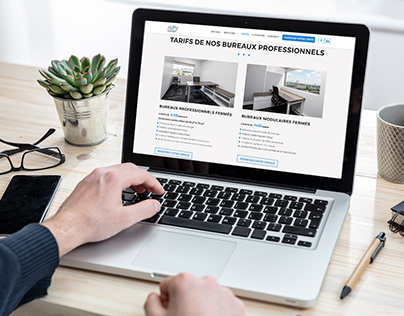 LEB9 Centre d'affaires - Site Web