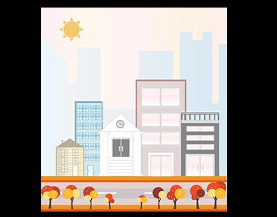 Post Card // Cityscape