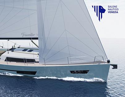 Sail boat - Traveller 360