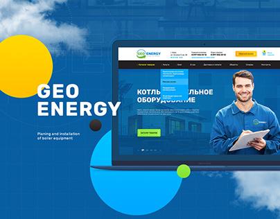 Geoenergy website design