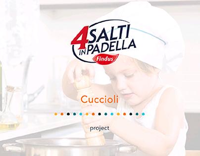 Packaging for children - 4 Salti in padella Cuccioli