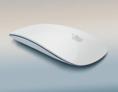 3D Apple Magic Mouse
