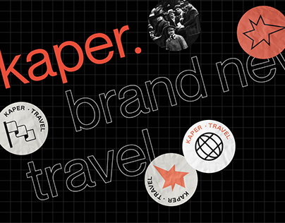 kaper travel | brand design | website launch