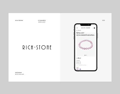 Jewelry store — E-commerce