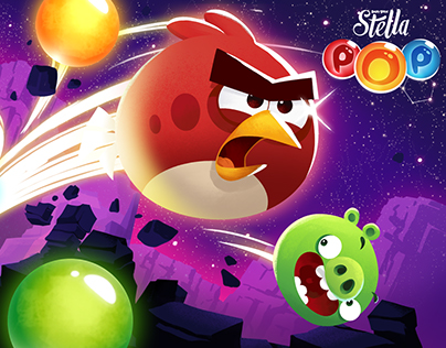 Angry Birds POP! marketing assets