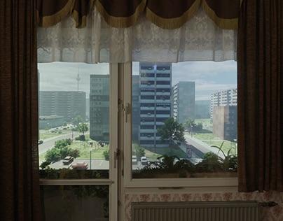 Interactive Window - GDR Museum Berlin