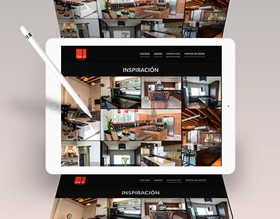 Cocinas Gaudí Sitio Web