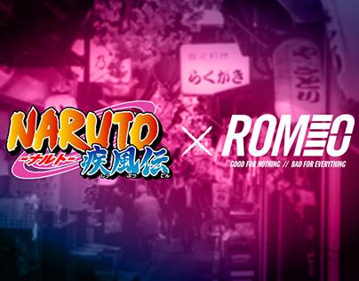 Naruto x ROMEO STREET WEAR