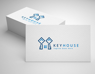 key house logo template for sale
