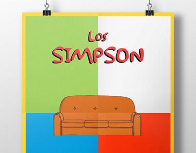 Carteles de cine/series: Los Simpson