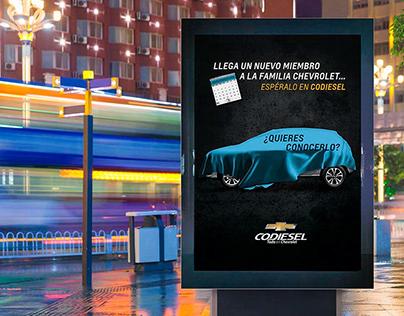 Campaña de Expectativa / Codiesel S.A.