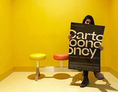 Cartooney - Exhibition Identity