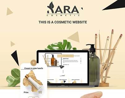 THIS IS A COSMETICWEBSITE