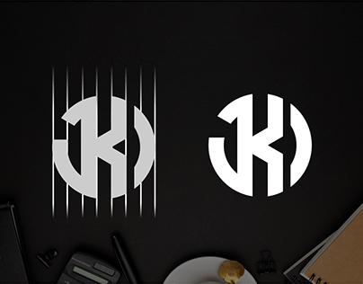 Letter J S logo design