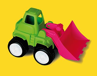 Vector Toy Illustration