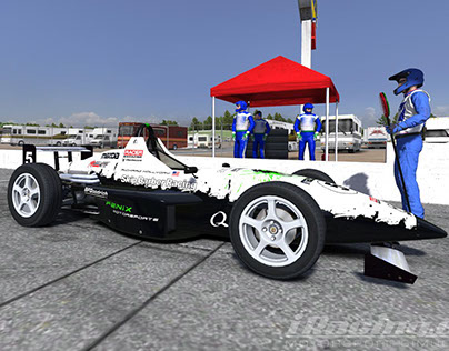 Fenix Motorsports Skip Barber Wrap