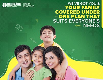 Social Media - Religare Health Insurance