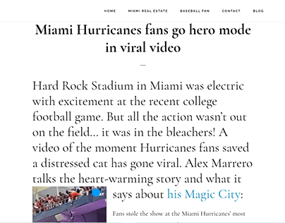Miami Hurricanes fans go hero mode in viral video