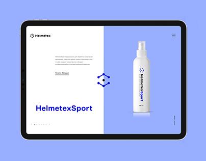 Helmetex. Website