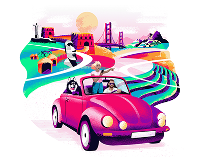 Illustration for The Upcoming Travel App