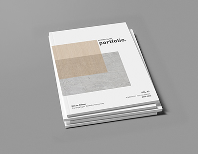 Architectural Portfolio // Vol - 01
