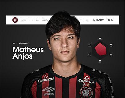 Athletico Paranaense website redesign