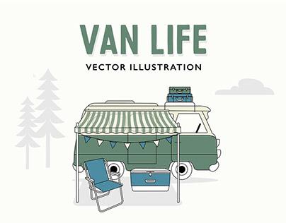 Van Life - woods