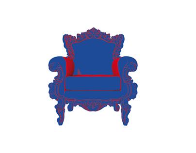 Kom op de stoel