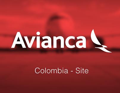 Avianca Colombia - Site