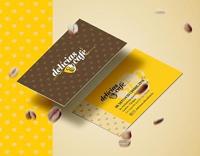 Material Gráfico - Delícias & Café