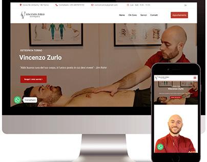 Vincenzo Zurlo - Osteopata Torino - Sitoweb Vetrina