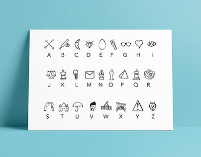 Iconic Alphabet