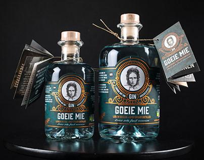 Goeie Mie Gin Branding & packaging