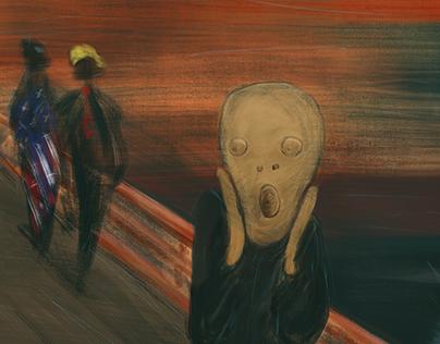 The frightening future. #munchcontest