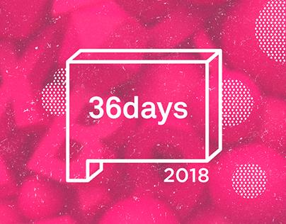 36 days of type | 2018