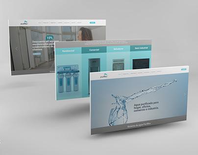 Website Re-design for Purifika Brand