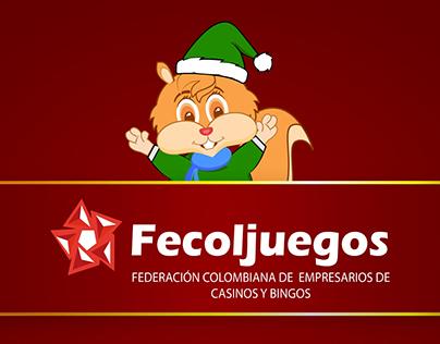 Animación de Navidad para Fecoljuegos