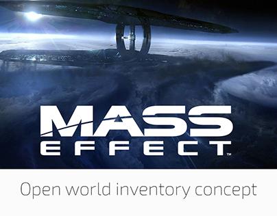 Mass Effect UI/ UX concept