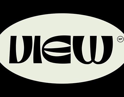View Display Typeface