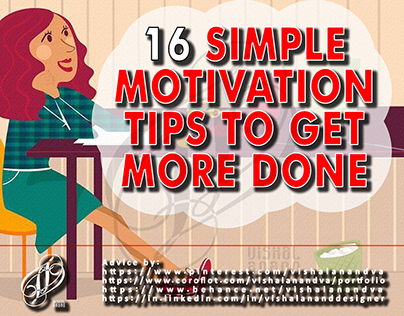 16 SIMPLE MOTIVATION TIPS TO GET MORE DONE