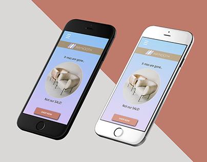 Interactive eCommerce App Prototype