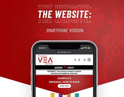 VEA Vapor - Responsive Website