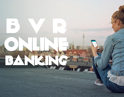 BVR online banking. The live banner.