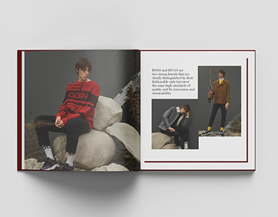 Hugo Boss– Catalogue Concept