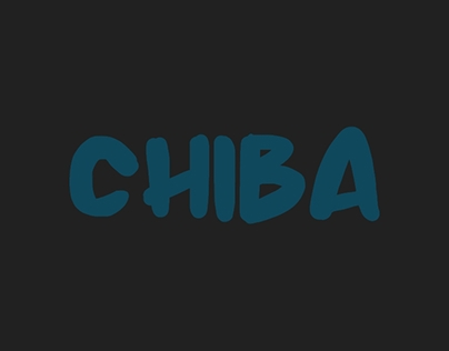 Chiba | almost FREE FONT