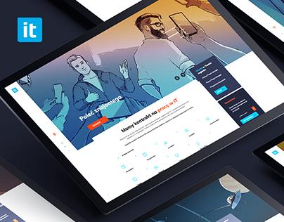 IT Kontrakt - employee platform