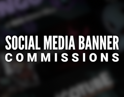 Social Media Banner Commissions