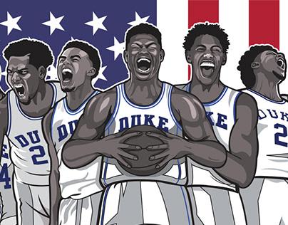 Duke Blue Devils: Road to Washington Promo Poster